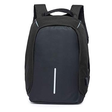 Mochila Executiva Antifurto Ozil Detroit USB Notebook Preto