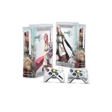Skin Adesivo para Xbox 360 Fat Arcade - Final Fantasy Xiii #A