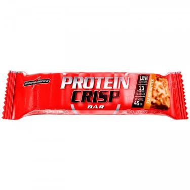 Imagem de Barra de Proteína Integralmédica Protein Crisp Bar - 1 Unidade de 45g - Manteiga de Amendoim Integralmédica Unissex