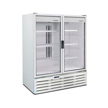 Refrigerador/Expositor Vertical Metalfrio 1022 Litros Porta Dupla VB99R 220v