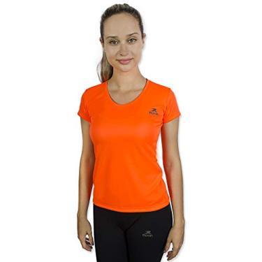 Imagem de Camiseta Color Dry Workout Ss - Muvin - Cst-400 - Laranja Fluor - Gg