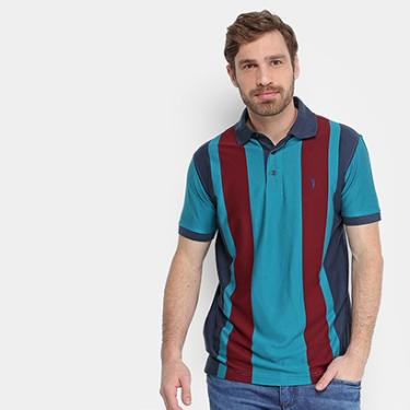 1d91db1cc6 Camisa Polo Aleatory Listra Vertical Masculina - Masculino