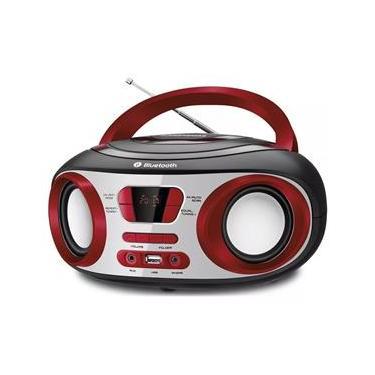 Rádio Portátil Mondial Boombox BX20 Bluetooth FM USB Bateria Interna 8W Bivolt