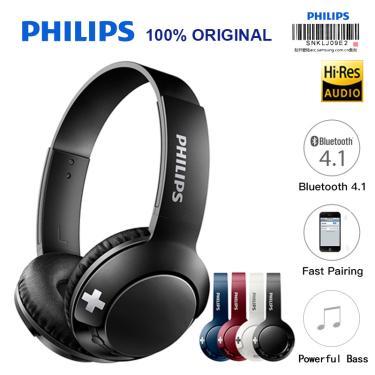 Imagem de Philips-fone de ouvido sem fio, bluetooth, alto-falante, controle de volume, microfone, compatível