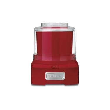 Imagem de Sorveteira Cuisinart Ice-21R Isolamento Duplo Sem Necessidade Fácil Limpeza Vermelho