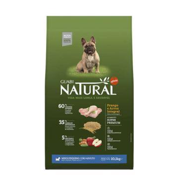 Ração Affinity Guabi Natural Frango e Arroz Integral para Cães Adultos Raças Mini e Pequena - 10,1 Kg