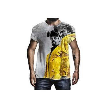 Camisa Camiseta Breaking Bad Séries Filmes Cinema Hd