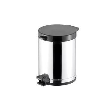 Lixeira Inox 4,5 Litros C/ Pedal Viel