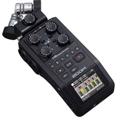 Gravador De Áudio Zoom H6 all Finish