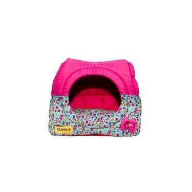 Cama E Toca Iglu Pet Super Luxo Para Gato Ou Cachorro De Pequeno Porte G