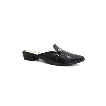 Sapato Mule Feminino X9755 - Mississipi (05) - Preto
