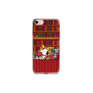Capa para celular Snoopy Book - Asus Zenfone 3 Max ZC520Tl 5.2