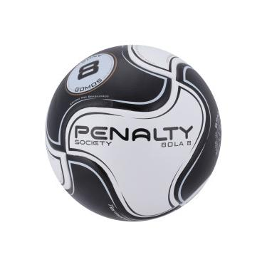 ecda39102b Bola Society Penalty 8 VIII - BRANCO PRETO Penalty