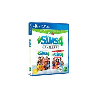 Bundle The Sims 4 + Gatos e Cães - PS4