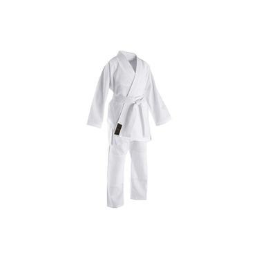 Kimono Jiu-jitsu Judô Trançado Branco Infantil Rythmoon