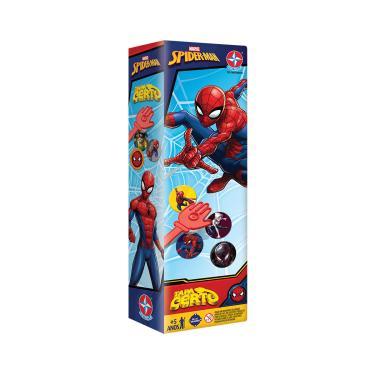 Jogo Tapa Certo Spider-Man Estrela