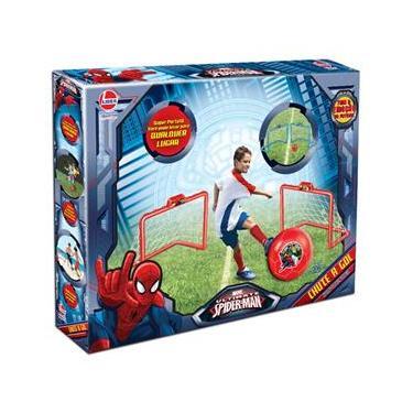 Imagem de Chute a Gol - Marvel - Ultimate Spider-Man - Web Warriors - Vermelho - Líder