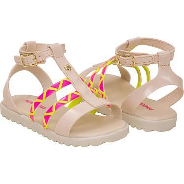 Sandalia Pimpolho Infantil Multicolorido  feminino