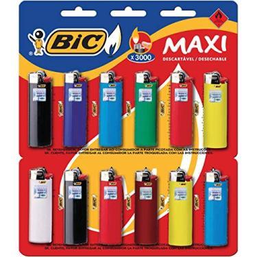 Isqueiro Blister Maxi Grande Unit, BIC