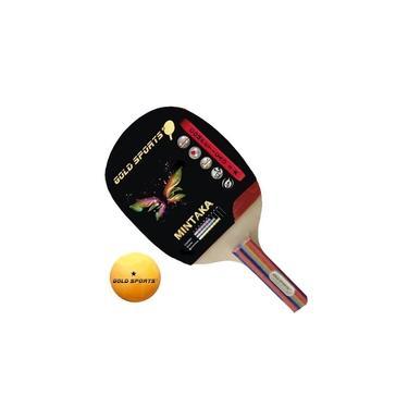 Imagem de Conjunto Raquete Tenis De Mesa Gold Sports Mintaka