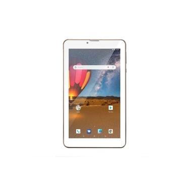 """Tablet Multilaser M7 3G Plus 7"""" 16GB Dual Chip Quad Core 1GB RAM - NB306 - Dourado"""