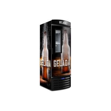 Cervejeira / Expositor Vertical Porta com Visor VN50F Metalfrio – 572 Litros – Cerveja Gelada