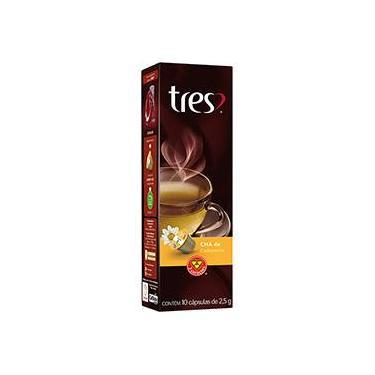 Cápsula de Chá de Camomila Tres - 10 cápsulas