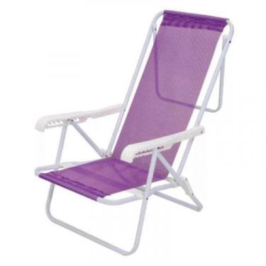 Cadeira Reclinável 8 Posições 2290 Lilas Sannet MOR