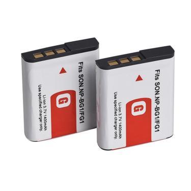 Imagem de 1pc NP-BG1 3.7v 1400mah bateria de câmera digital para sony np bg1 bateria para sony cyber-shot
