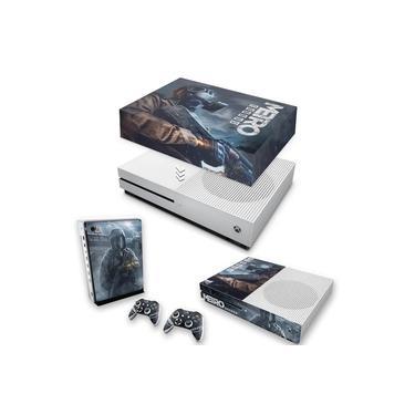 Capa Anti Poeira e Skin para Xbox One S Slim - Metro Exodus