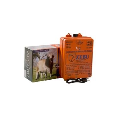 Imagem de Eletrificador De Cerca Elétrica Rural Zebu ZK120 Bivolt Laranja