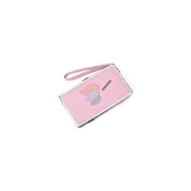 Bewine-Moda Patchwork Deixe Costura Bolsa Tote pequeno Clutch Purse Wallet