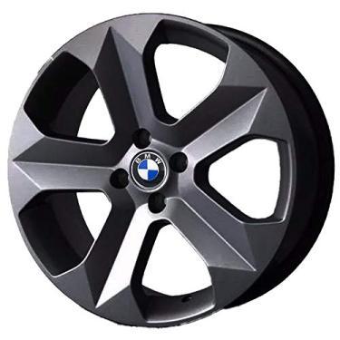 Jogo de Rodas BMW X6 Aro 15 x 6,0 4x100 ET40 K47 Grafite Fosco