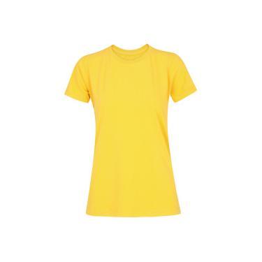 89bbcbe951 Camiseta Adams Básica Futebol - Feminina - AMARELO Adams