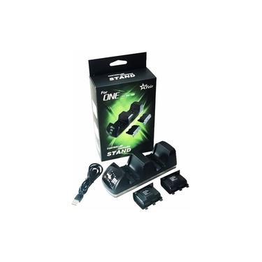 Base Carregadora P/ 2 Controle Xbox One Acompanha 2 Baterias