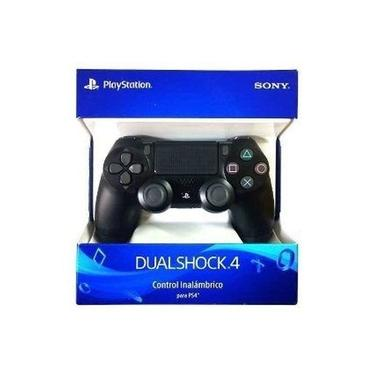 Controle Dualshock PS4 Sem Fio (Preto) Original