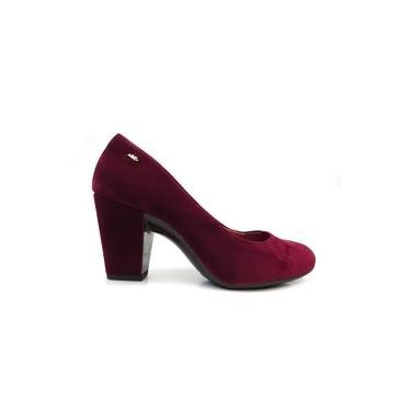 Sapato Com Salto Nobuck B9221 - Dakota (106) - Cereja