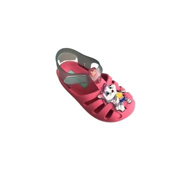 Sandália Crocs Casual Infantil Menina Borracha 44 Gatos 22545