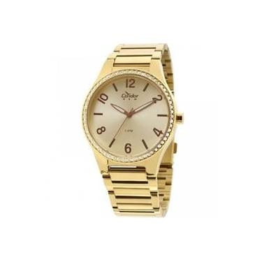 4336bca1e54 Relógio Feminino Condor Analógico Copc21ak 4x - Dourado