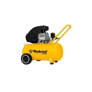 Compressor de Ar Portátil 2,5 HP 8,5 Pés 50 Litros CP8550 115PSI TEKNA -