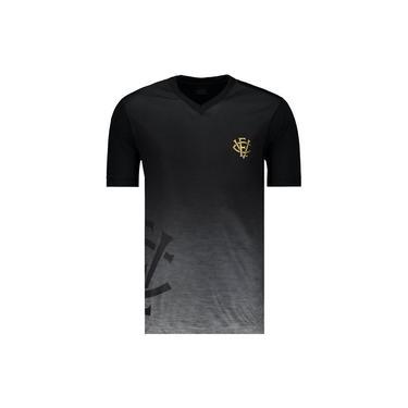 Camisa Super Bolla Vitória Preta e Dourada