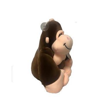 Imagem de Gorila De Pelúcia Macia Com Ventosa 21Cm Bbr Toys