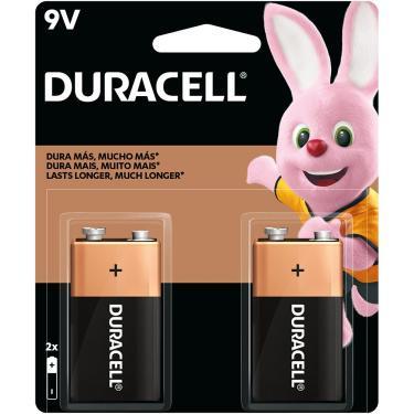 Bateria Alcalina 9V Duracell - BT 2 UN