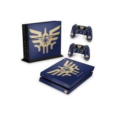 Skin Adesivo para PS4 Fat - Dragon Quest Bundle