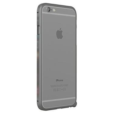 Capa para iPhone 6, capa Infinie para iPhone 6 ultra fina com absorção de choque [alumínio de nível aeronáutico], para iPhone 6 e iPhone 6s (tela de 4,7 polegadas), Space Gray