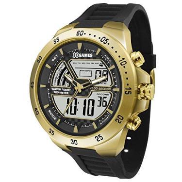 47f9c46e26 Relógio Masculino X-games Anadigi Xmspa021 Bxpx Dourado