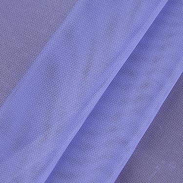 Tecido Para Cortina Voil Liso Lilás Largura 3,00m VLI-18