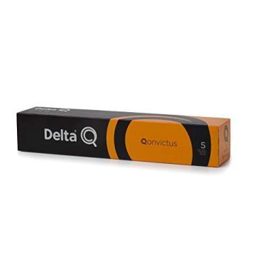 Cápsulas de Café Qonvictus Intensidade 5 Delta Q, Compatível com Delta Q, Contém 10 Cápsulas