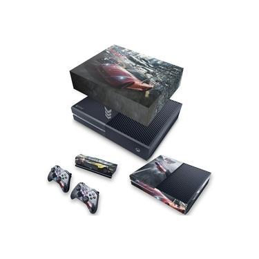 Capa Anti Poeira e Skin para Xbox One Fat - Need For Speed Rivals