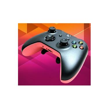 Controle Xbox One Competitivo Black Pink (Grip/Padlles/Trigger Stop)
